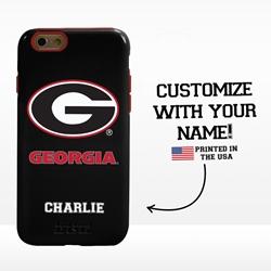 Collegiate Case for iPhone 6 / 6s  – Hybrid Georgia Bulldogs - Personalized