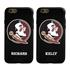 Collegiate Case for iPhone 6 / 6s  – Hybrid Florida State Seminoles - Personalized