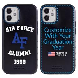 Collegiate Alumni Case for iPhone 12 Mini – Hybrid Air Force Falcons - Personalized