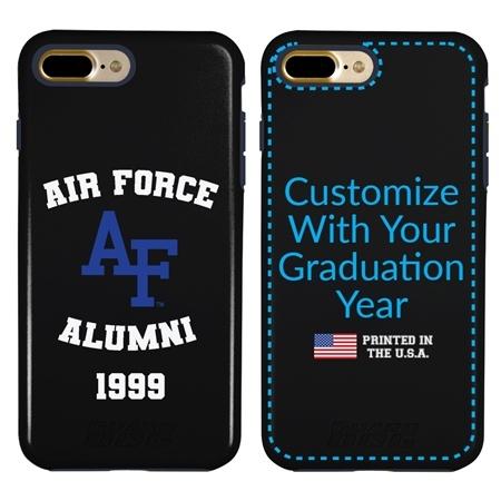 Collegiate Alumni Case for iPhone 7 Plus / 8 Plus – Hybrid Air Force Falcons - Personalized