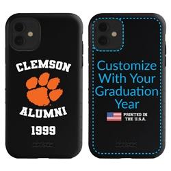 Collegiate Alumni Case for iPhone 11 – Hybrid Clemson Tigers - Personalized