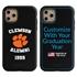 Collegiate Alumni Case for iPhone 11 Pro Max – Hybrid Clemson Tigers - Personalized