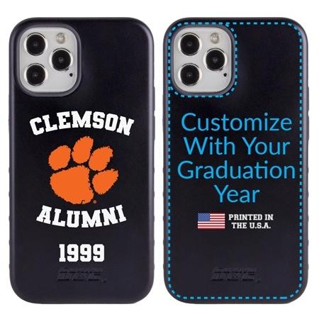 Collegiate Alumni Case for iPhone 12 / 12 Pro – Hybrid Clemson Tigers - Personalized