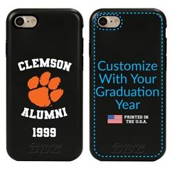 Collegiate Alumni Case for iPhone 7 / 8 / SE – Hybrid Clemson Tigers - Personalized