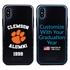 Collegiate Alumni Case for iPhone X / XS – Hybrid Clemson Tigers - Personalized