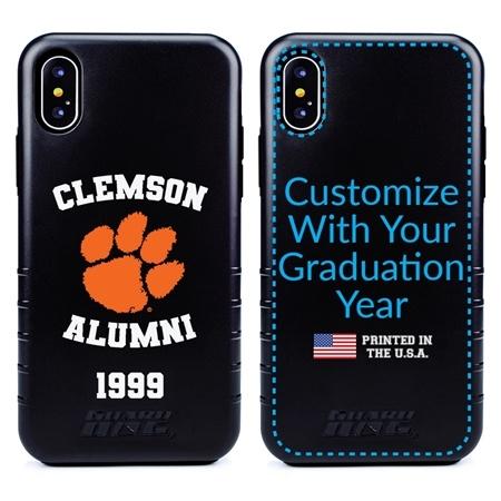 Collegiate Alumni Case for iPhone XS Max – Hybrid Clemson Tigers - Personalized