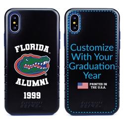 Collegiate Alumni Case for iPhone X / XS – Hybrid Florida Gators - Personalized