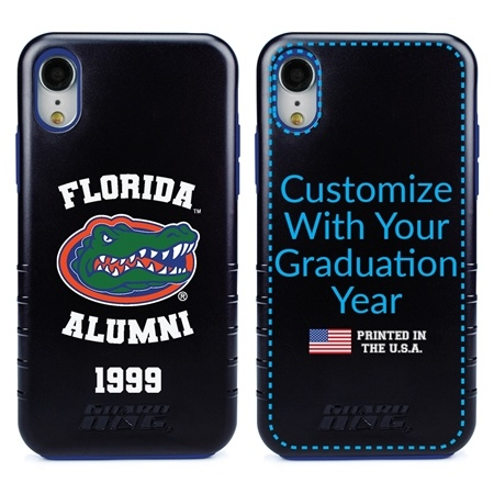 Collegiate Alumni Case for iPhone XR – Hybrid Florida Gators - Personalized