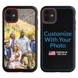 Custom Photo Case for iPhone 11 - Hybrid (Black Case)