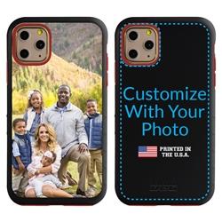 Custom Photo Case for iPhone 11 Pro - Hybrid (Black Case)
