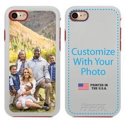 Custom Photo Case for iPhone 7/8/SE - Hybrid (White Case)