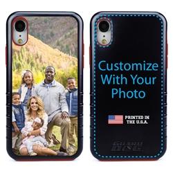 Custom Photo Case for iPhone XR - Hybrid (Black Case)