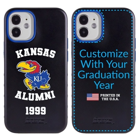 Collegiate Alumni Case for iPhone 12 Mini – Hybrid Kansas Jayhawks