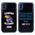 Collegiate Alumni Case for iPhone X / XS – Hybrid Kansas Jayhawks