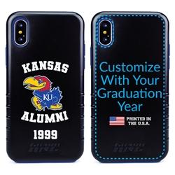 Collegiate Alumni Case for iPhone XS Max – Hybrid Kansas Jayhawks
