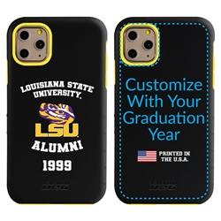 Collegiate Alumni Case for iPhone 11 Pro Max – Hybrid LSU Tigers