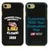 Collegiate Alumni Case for iPhone 7 / 8 / SE – Hybrid LSU Tigers