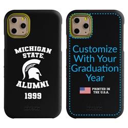 Collegiate Alumni Case for iPhone 11 Pro Max – Hybrid Michigan State Spartans