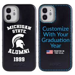 Collegiate Alumni Case for iPhone 12 Mini – Hybrid Michigan State Spartans