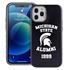 Collegiate Alumni Case for iPhone 12 / 12 Pro – Hybrid Michigan State Spartans