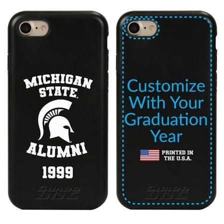Collegiate Alumni Case for iPhone 7 / 8 / SE – Hybrid Michigan State Spartans