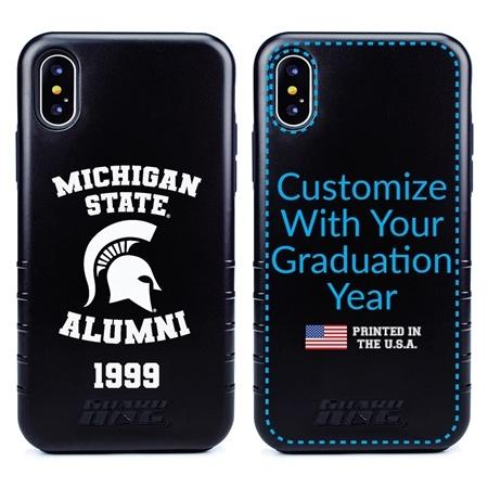 Collegiate Alumni Case for iPhone X / XS – Hybrid Michigan State Spartans