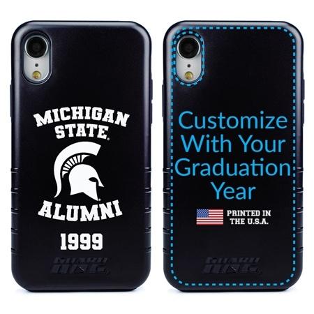 Collegiate Alumni Case for iPhone XR – Hybrid Michigan State Spartans