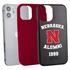 Collegiate Alumni Case for iPhone 12 Mini – Hybrid Nebraska Cornhuskers