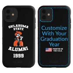 Collegiate Alumni Case for iPhone 11 – Hybrid Oklahoma State Cowboys