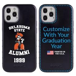 Collegiate Alumni Case for iPhone 12 / 12 Pro – Hybrid Oklahoma State Cowboys