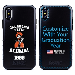 Collegiate Alumni Case for iPhone X / XS – Hybrid Oklahoma State Cowboys