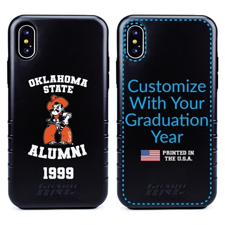 Collegiate Alumni Case for iPhone XS Max – Hybrid Oklahoma State Cowboys