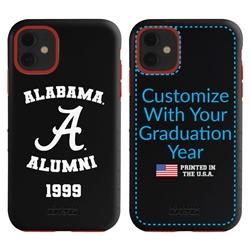 Collegiate Alumni Case for iPhone 11 – Hybrid Alabama Crimson Tide