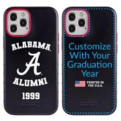 Collegiate Alumni Case for iPhone 12 / 12 Pro – Hybrid Alabama Crimson Tide