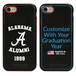 Collegiate Alumni Case for iPhone 7 / 8 / SE – Hybrid Alabama Crimson Tide