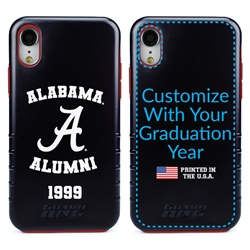 Collegiate Alumni Case for iPhone XR – Hybrid Alabama Crimson Tide