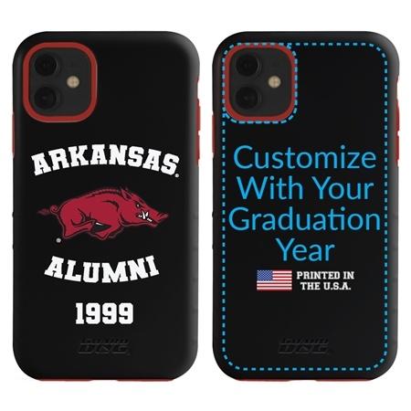 Collegiate Alumni Case for iPhone 11 – Hybrid Arkansas Razorbacks