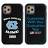 Collegiate Alumni Case for iPhone 11 Pro – Hybrid North Carolina Tar Heels