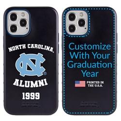 Collegiate Alumni Case for iPhone 12 Pro Max – Hybrid North Carolina Tar Heels