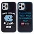 Collegiate Alumni Case for iPhone 12 / 12 Pro – Hybrid North Carolina Tar Heels