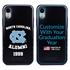 Collegiate Alumni Case for iPhone XR – Hybrid North Carolina Tar Heels