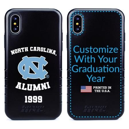 Collegiate Alumni Case for iPhone XS Max – Hybrid North Carolina Tar Heels