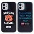 Collegiate Alumni Case for iPhone 12 Mini – Hybrid Auburn Tigers