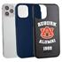 Collegiate Alumni Case for iPhone 12 / 12 Pro – Hybrid Auburn Tigers