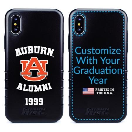 Collegiate Alumni Case for iPhone X / XS – Hybrid Auburn Tigers