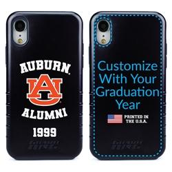 Collegiate Alumni Case for iPhone XR – Hybrid Auburn Tigers