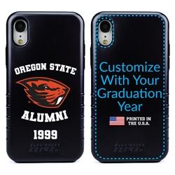 Collegiate Alumni Case for iPhone XR – Hybrid Oregon State Beavers