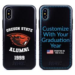 Collegiate Alumni Case for iPhone XS Max – Hybrid Oregon State Beavers