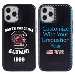 Collegiate Alumni Case for iPhone 12 / 12 Pro – Hybrid South Carolina Gamecocks