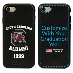Collegiate Alumni Case for iPhone 7 / 8 / SE – Hybrid South Carolina Gamecocks